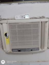 Ar condicionado 7500 BTUs com controle
