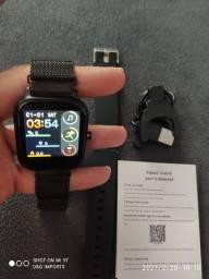Smartwatch P9 pró faz até ligação com alto falante