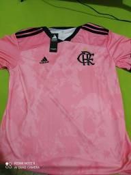 Título do anúncio: Camisa flamengo rosa