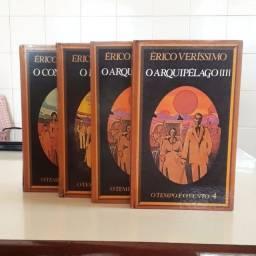Livros Érico Veríssimo - O tempo e o vento