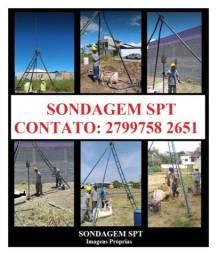 Título do anúncio: Sondagem SPT e Topografia