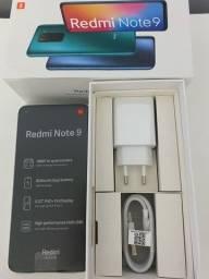 Vendo Redmi note 9 64GB novo lacrado