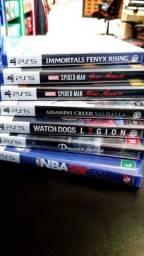 Jogos para Playstation 5 novos lacrados com nota fiscal e garantia