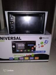 Central Multimídia Universal M1 M6205 6.0 Dvd,gps,tv Hd,mp3