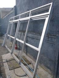 Título do anúncio: Porta janela e janelão em alumínio