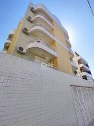 Apartamento 02 dormitórios, 02 banheiros, sacada com churrasqueira, elevador e garagem.