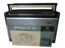 Rádio Philco Transglobe, 10, Transistores, Mod. B-471-2