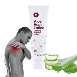 Loção ?Quente/Frio? de Aloe Vera para Dores ? Heat Lotion 118 ml ? Forever