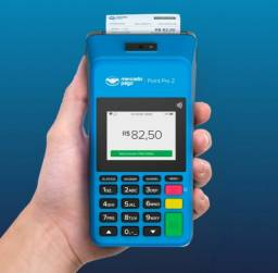 Maquininha de cartão Mercado Pago Point Pro2 Lançamento imprime comprovantes