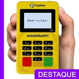 Maquininha de Cartão Minizinha Chip 2 PagSeguro - Ac VR/VR Sodexo