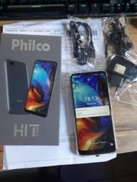 Vendo Smartphone Philco Hit Max com 128GB memória