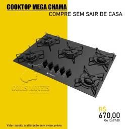 Fogão  cooktop  cozinha Fogão  cooktop   partir R$595