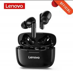 Fone de Ouvido Lenovo XT90 Preto Novo