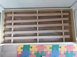 Cama Montessoriana Casinha + colchão + lençol