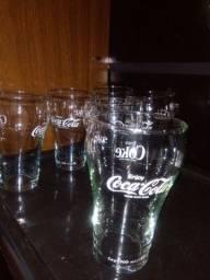 6 Copos Coca-Cola Vintage
