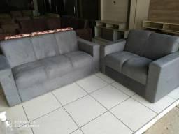 Sofá de 2 e 3 lugares- Novo