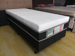 Oferta**Cama Box Solteiro, Super Confort,Novo