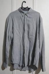 Camisa Social Zara Man Tamanho Usa XL - Mex 44