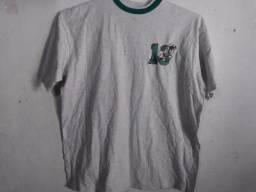 1 Camiseta Miami Dolphins NFL e 1 Camiseta Miami Hurricanes