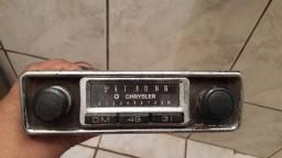Rádio antigo Chrysler funcionando... RARIDADE!!!