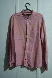Camisa Social Zara Man Tamanho XL - USA - MEX 44