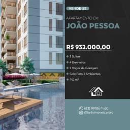 Título do anúncio: Ótimo apartamento em frente ao Parque Paraiba
