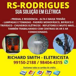 Título do anúncio: Eletricista Richard RS-RODRIGUES