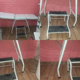 Maçã pra estética e escada