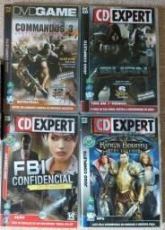 Título do anúncio: 4 jogos originais para PC. CD Expert e DVD Game Jogo Retrô Clássico