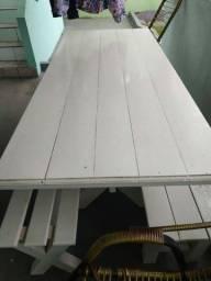 Mesa de madeira 1,80 x 80