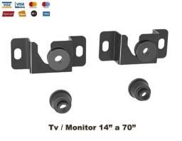 "Suporte Tv / Monitor Fixo 14"" a 70"""