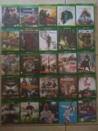 25 jogos de Xbox one por 650 - aceito cartão