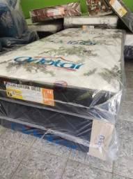 Título do anúncio: Cama Box Solteiro Colchão 17cm