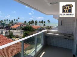 Apartamento com 2 dormitórios à venda, 75 m² por R$ 525.000 - Bessa - João Pessoa/PB