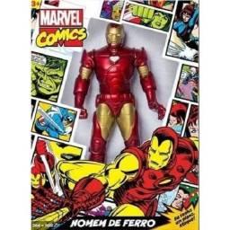 Boneco Homem de Ferro GIGANTE 50cm Marvel Os Vingadores 100% Original Lacrado!
