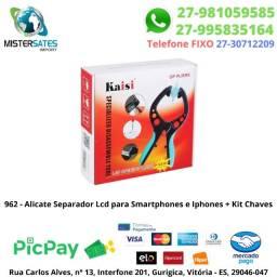 962 - Promoção - Alicate Separador Lcd P/ Smartphones E Iphones C/ Kit Chaves