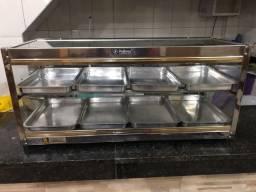 Título do anúncio: Estufas para salgados dupla com 8 bandejas Polimac