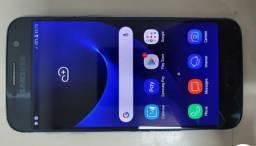 Samsung Galaxy s7 flat. Burn in