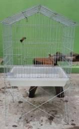 Viveiro (gaiola) para calopsita ou outro pássaro manso