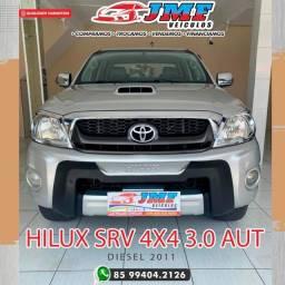 Título do anúncio: Hilux SRV 3.0 Diesel Automática 2011 Veiculo Extra Venha Conferir
