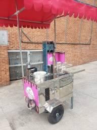 Maquina de churros a gas da tia