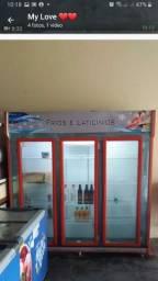 Título do anúncio: Vendo frezer geladeira refrigerador novo