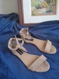 Sandalia rasteira I love shoes