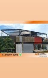 Coberturas de metal, coberturas garagens, coberturas metálicas, Barracões