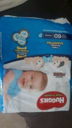 Vendo fralda huggies