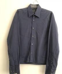 Título do anúncio: Camisa Social Azul Marinho Número 1