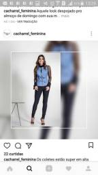 Colete Jeans P