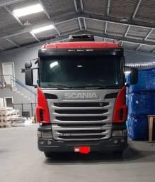 Título do anúncio: Scania G420 2010 completo com motor revisado.