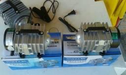 Oxigenador para aquario e criação peixes em caixa dagua