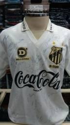 Camisa SANTOS FC(1993)= Pelé